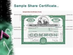 Template share certificate rbscqi9v share certificate image result for specimen presentation of share certificates for different kinds of shares yadclub Choice Image