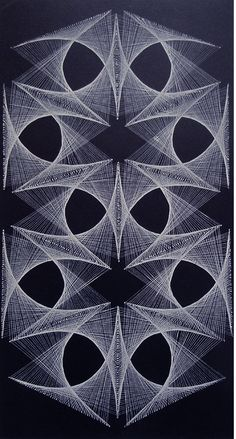 penny candy: Filography: Beautiful String Art from the '70s