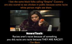 """A thought on the controversial """"Fox's Empire"""" is coonery debate."""