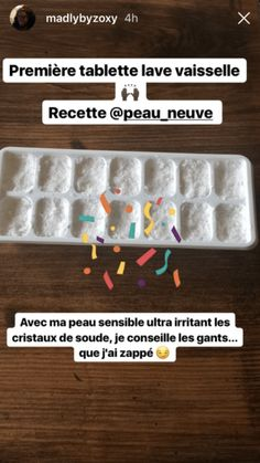 Pastille Lave vaisselle DIY + Vos avis Cleaning, Homemade, How To Make, Lifestyle, Simple, Green, Kitchen, Natural Cleaning Products, Homemade Drain Cleaner