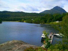 Inveruglas on Loch Lomond - http://www.europealacarte.co.uk/blog/2013/08/29/inveruglas-loch-lomond/