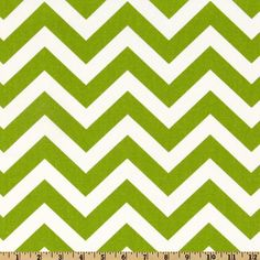 Premier Prints Zig Zag Chartreuse/White from @fabricdotcom  Screen printed on cotton duck; this versatile medium weight fabric is perfect for window accents (draperies, valances, curtains and swags), accent pillows, duvet covers and upholstery. Create handbags, tote bags, aprons and more. *Use cold water and mild detergent (Woolite). Drying is NOT recommended - Air Dry Only - Do not Dry Clean. Colors include white and chartreuse.
