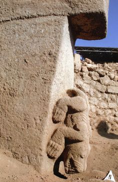 Gobekli Tepe 12,000 Years old  Animalic high priests and council chamber and throne room/palace