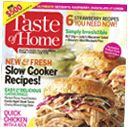 Taste of Home Magazine banana coffee cake