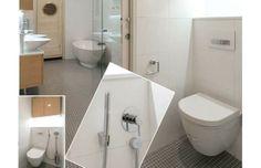 Iso kylpyhuone ja vessa
