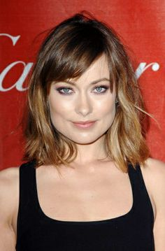 ombre hair and bob