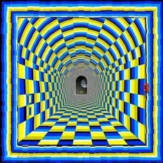 Illusion d'optique très réaliste