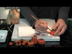 Polymer Clay Tutorial - How to Make halloween pumpkins
