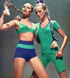 Triumph underwear & sleepwear, Burda Moden October 1967