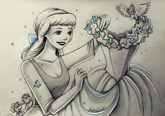 Cinderella By Natalico