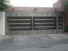 Imágenes de Herreria A Credito San Jose en Tijuana Grill Gate Design, Front Gate Design, Main Gate Design, House Gate Design, Door Gate Design, House Front Design, Front Gates, Entrance Gates, Sliding Gate