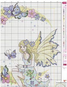 Fairy Flowery Moon (Part 1 of 3) .... Gallery.ru / Фото #24 - Вышитые картины 11.11 - Los-ku-tik