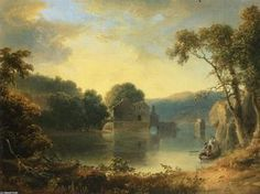 Ruins in a Landscape - (Thomas Doughty)
