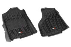 Rugged Ridge 82903 05 All Terrain Floor Liner Fits 1500 2018 Dodge Ram 2500, 2018 Ram, Rugged Ridge, Floor Mats, Your Shoes, Quad, All Black Sneakers, All In One, Pairs