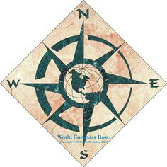 Compass - What if the world were upside down and South were pointing up?