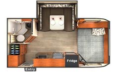 Lance 1685 Travel Trailer - If you're looking for more living space and storage the 1685 was made for you.
