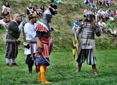 annual medieval festival about the living and fighting of Vikings, Varangians…
