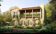 Pictures of Spain villas | spanish villa semblance-#2