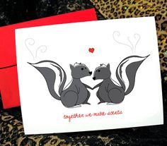 Hey, I found this really awesome Etsy listing at https://www.etsy.com/listing/73857697/stinky-love-skunks