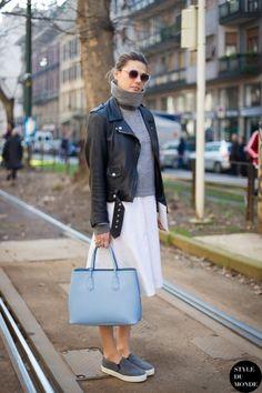 Milan Fashion Week FW 2014 Street Style: Natalie Hartley
