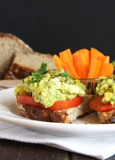 Mashed Avocado Egg Salad