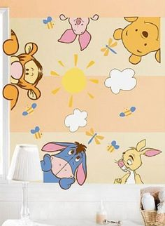 Winnie The Pooh Wall Decal Nursery Decor