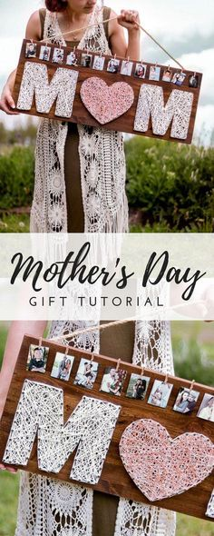 This Mother's day gift is one the perfect combination of love and memories! # diy gifts for mom Homemade Mother's Day Gift-IDEA- DIY ROSE GOLD GIFT Homemade Mothers Day Gifts, Diy Gifts For Mom, Mothers Day Crafts, Mother Day Gifts, Mothers Day Ideas, Mothers Day Decor, Easy Handmade Gifts, Gift For Mother, Gifts For Your Girlfriend