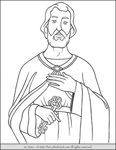 1000 images about catholic saints coloring pages on for St valentine coloring pages catholic