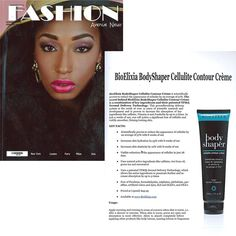 #BioElixia BodyShaper Cellulite Creme was featured in the November 2013 issue of Fashion Avenue News Magazine!
