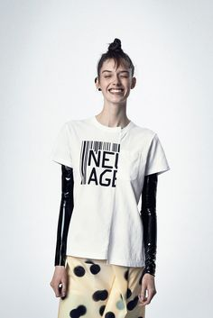 It's the beginning of a new age. Marc by Marc Jacobs New Age Tee