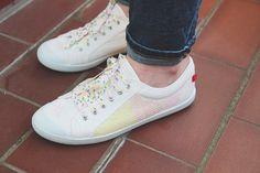 Les blogueuses customisent leurs chaussures pour Maniet ! Luxus ! – On semelle de tout