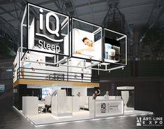 641 89 91 www.art-line-expo.ru on Behance Exhibition Booth Design, Exhibit Design, Exhibition Stands, Double Deck, Trade Show, Second Floor, Museums, Layout, Exhibitions