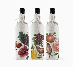Pure Drops packaging designed by Bob Studio.