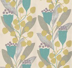 Bellflower+wallpaper+by+Sanderson