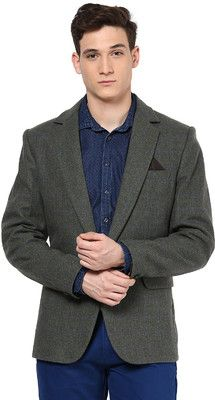 Buy Okane Checkered Casual Men's Blazer Online at Best Offer Prices @ Rs. 2,790/- In India.
