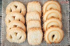 The Official Food of Every State Bakery Recipes, Sweets Recipes, My Recipes, Cookie Recipes, Snack Recipes, Snacks, Danish Butter Cookies, Biscuit Cookies, Cake Cookies