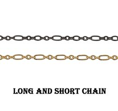 Long & Short Chain Making~~Brass Metal Link Cable Chain~~Handmade Making Craft Chain~~Filled Long or Short Chain~~Chain Supplies. (1486) Brass Metal, Brass Chain, Long Shorts, Crafts To Make, Chains, Cable, Link, Handmade, Etsy