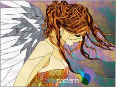Angel- 24 x 18
