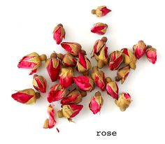 China Rose (Rosa chinensis)  - Potential medicinal benefits of Rose Tea: relieves menstrual pain and stomach aches, improves blood circulation, strengthens immune system because of high Vitamin C.