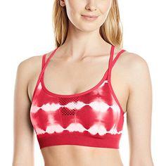 649d903b991b2 Jockey Women s Open Hole Tie Dye Seam Free Cami Strap Sport Bra