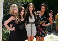 Ashley Benson, Lucy Hale, Troian Bellisario & Shay Mitchell