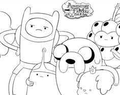 19 best Adventure Time images on Pinterest | Adventure time coloring ...