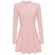 Women Fashion Casual Slim Rib Knit Long Sleeve Solid A-Line Swing Short Mini Sweater Dress. I like this dress, how do you think? Buy here: http://www.wholesalebuying.com/product/women-fashion-casual-slim-rib-knit-long-sleeve-solid-a-line-swing-short-mini-sweater-dress-183120?utm_source=pin&utm_medium=cpc&utm_campaign=ZYWB26