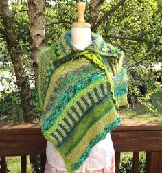 Dreamy Poncho pattern by Jennifer Edwards Poncho Knitting Patterns, Knitted Poncho, Creative Knitting, Knit Or Crochet, Yarn Needle, Wearable Art, Two By Two, Detail, Etsy