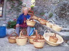 Fabbricatore di panieri e cesti