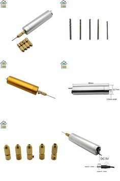 [Visit to Buy] DC 5V DIY Mini Micro Electric Aluminum Hand Drill Motor Drilling w/5 Brass Collets 10pc Twist Bits Set Wood PCB Hobby Model Tool #Advertisement