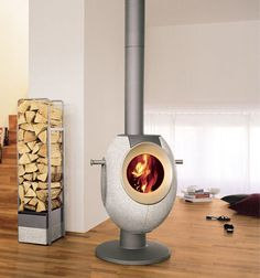 Unique wood stove design