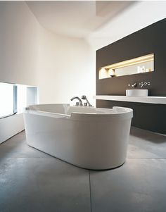 Duravit - Bathroom design series: Starck bathtubs - bath tubs from Duravit. MY TUB! 74 3/4 x 35 3/8
