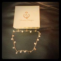 premier designs gold anklet gold anklet never worn great condition Premier Designs Jewelry Bracelets.
