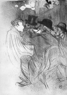 Henri de Toulouse-Lautrec Drawing